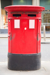 red letter box.