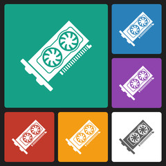 graphic card icon