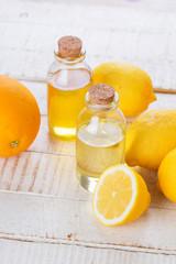 Essential aroma oil with citrus