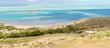Côte sud-est de Rodrigues, lagon et île Hermitage