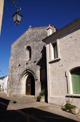 Façade de l'église Saint Pierre de Mornac-sur-Seudre