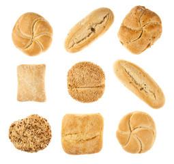 pan aislado fondo blanco