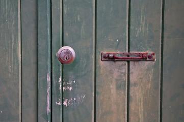 Vielle porte en bois