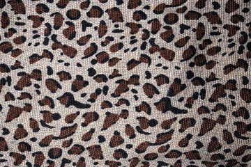 Material in animal skin pattern, a background or texture