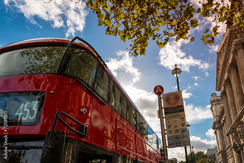 Foto op Canvas Londen rode bus Bus, London