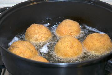 fry of arancini