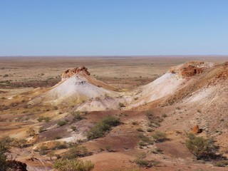 The Breakaways near Cooper Pedy in the outback