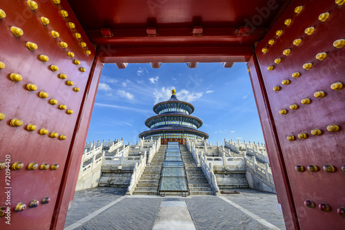 Foto op Aluminium Beijing Temple of Heaven in Beijing, China