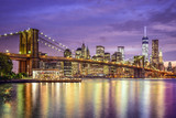 New York City, USA Skyline on the East River