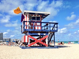 Sunny Day in South Beach - Miami