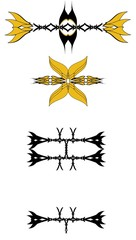 tattoo designs influenced by weapons
