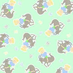 Horoscope capricorn background