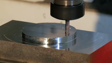 industrial details, metal drilling