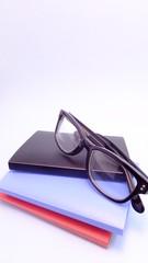 ファイルとメガネ