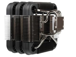 Radiator passive cooling of computer processor