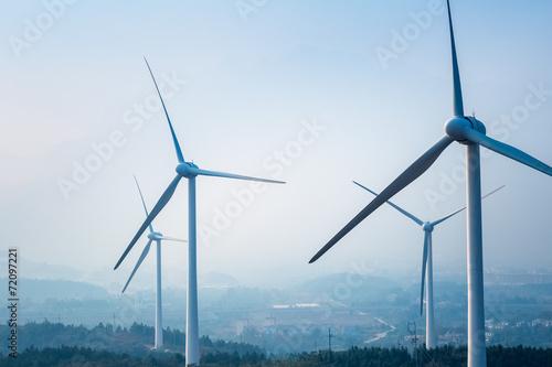 wind farm closeup - 72097221