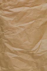 Texture - Wrinkled Brown Paper