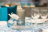 Fototapety Déco de table mariage