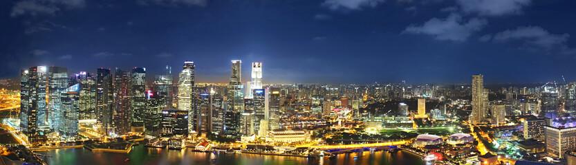 Panorama of singapur