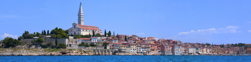 Panorama of Rovinj