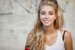 Beautiful woman fashionable young girl portrait.