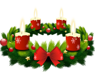 advent wreath 4 candles