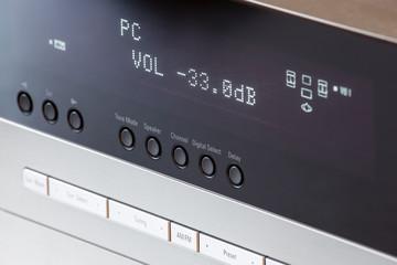 Volume tuning on av receiver