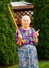 Threatening Grandma
