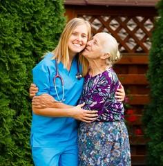 Pleased Senior Patient