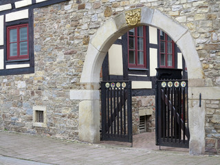 Tor des Amtsgerichts in Rinteln