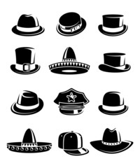 Hats collection set