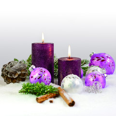 Kerzen Arrangement