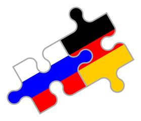 Russisch-Deutsches Puzzle