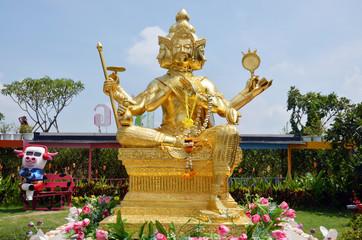 Brahma Buddha in Ayutthaya Thailand