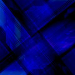 Elegant technical abstract blue background