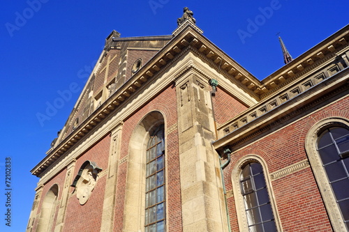 canvas print picture Dyonisuskirche in KREFELD