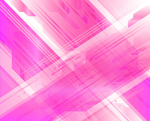 Elegant technical abstract pink background