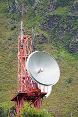 Telecommunication in mountains