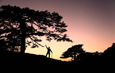 zirve başarısı ile güneşi uğurlamak