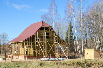 строительство загородного дома