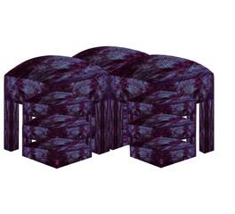 Креативное мебельное сооружение