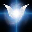 Leinwandbild Motiv Angel winged