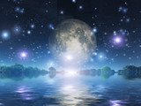 Fototapety Moonrise