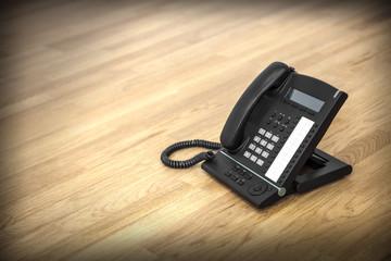 schwarzes Telefon © Matthias Buehner