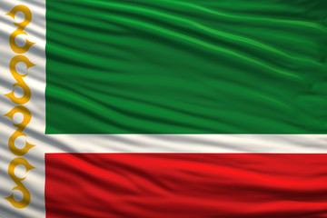 flag of the Chechen Republic
