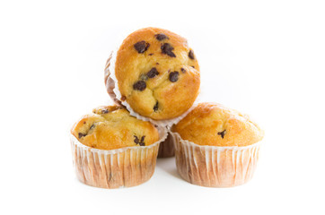 Delicious Cupcakes with Chocolate Chips