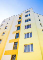 gelbes Wohnhaus - Gebäude in Deutschland