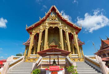 "Bangkok, Thailand - August 12, 2014 : ""Watthungsretthree"" Temple"