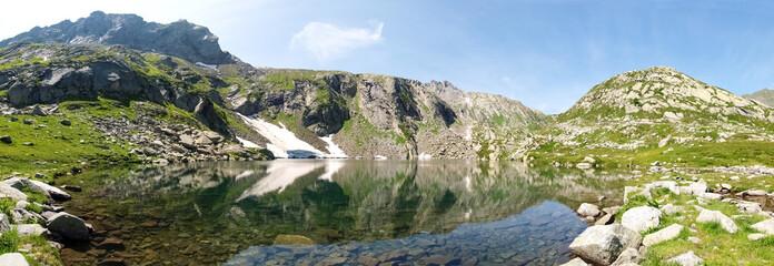 Val Sambuco, lake of Sassolo