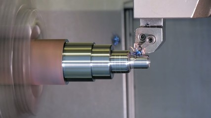 industrial details, metal turning